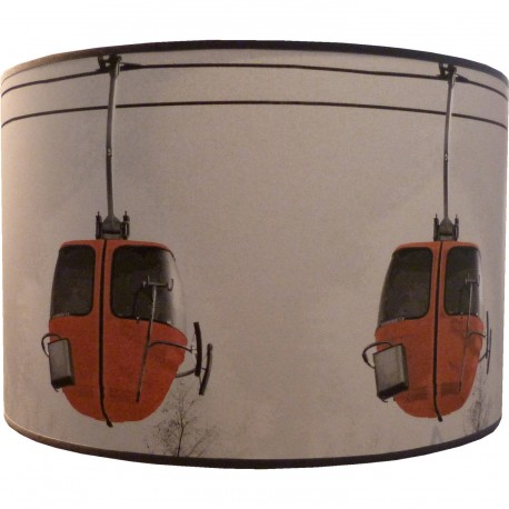 abat jour cylindrique les oeufs rouge. Black Bedroom Furniture Sets. Home Design Ideas