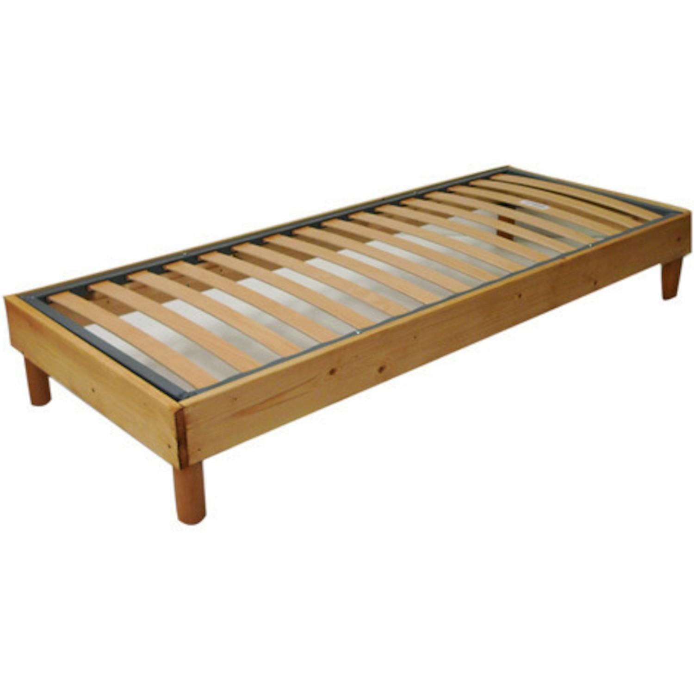 lit entourage bois. Black Bedroom Furniture Sets. Home Design Ideas