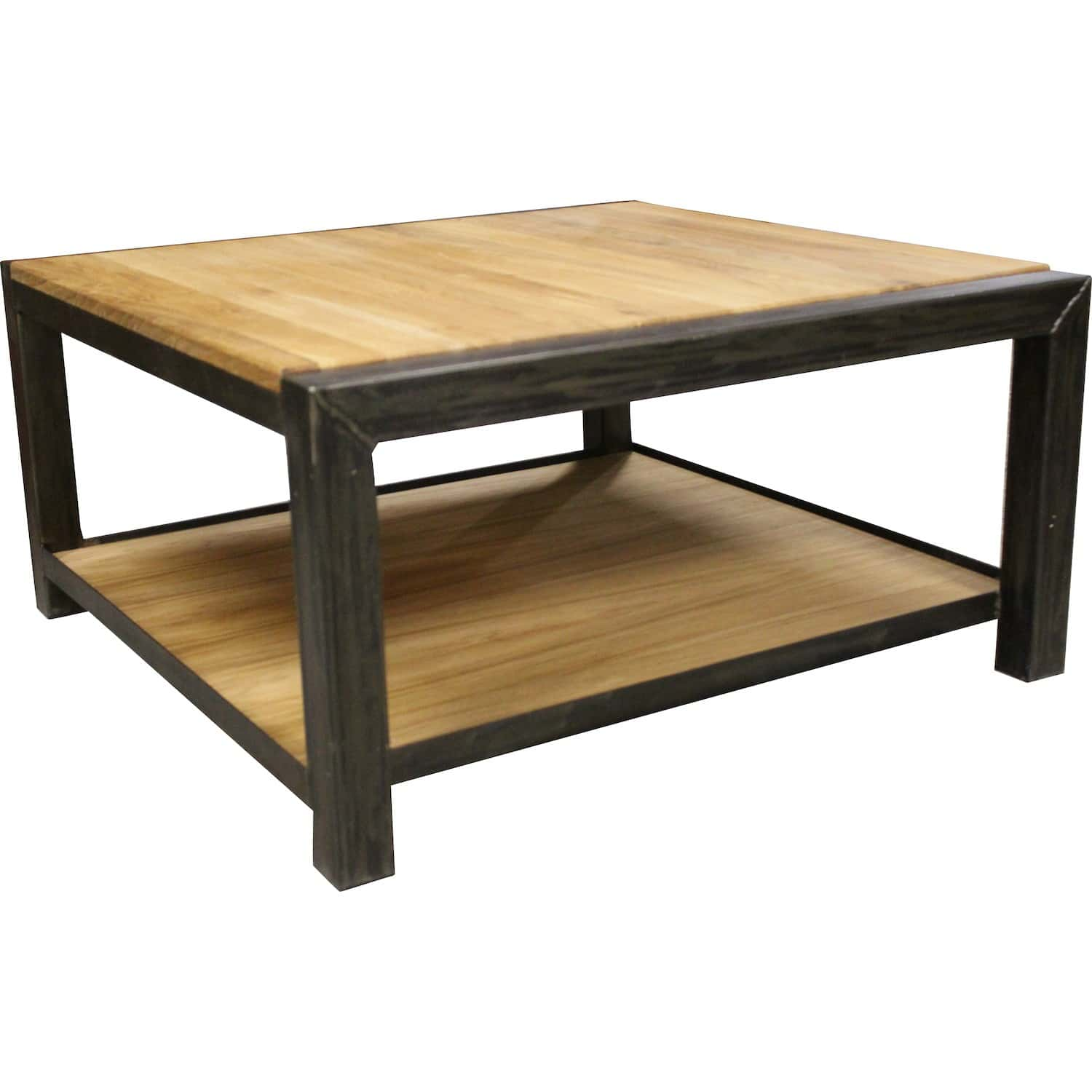 Table basse coffre doccasion for Table de television en bois
