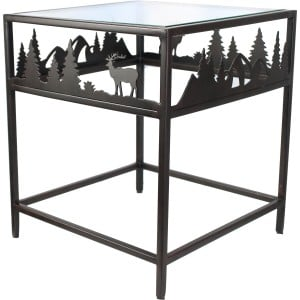 tables basses d 39 int rieur pour chalet de montagne. Black Bedroom Furniture Sets. Home Design Ideas