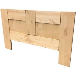 Tête de lit bois massif Droite sans decoupe