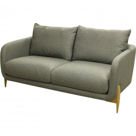 Sofa pieds bois nature jenny