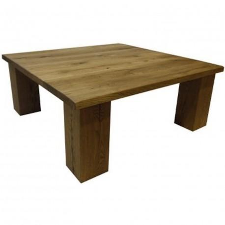 Table basse jan chêne antique