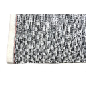 Tapis chiné laine et coton