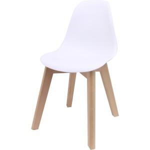 Mini chaise pvc pieds bois