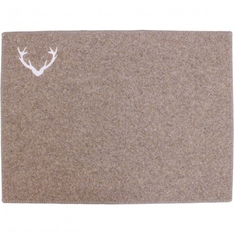 Set de table laine cerf
