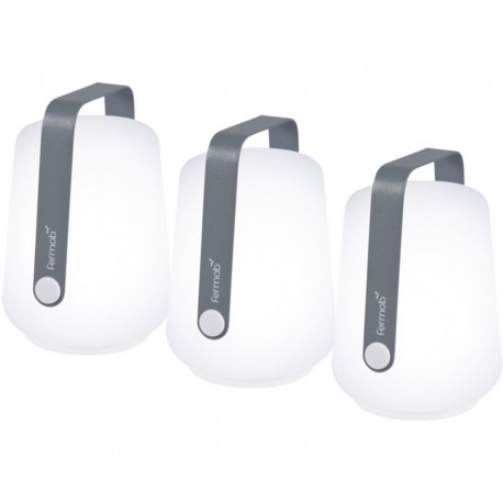 Set de 3 lampes balad 12 cm