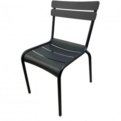 Chaise luxembourg aluminium