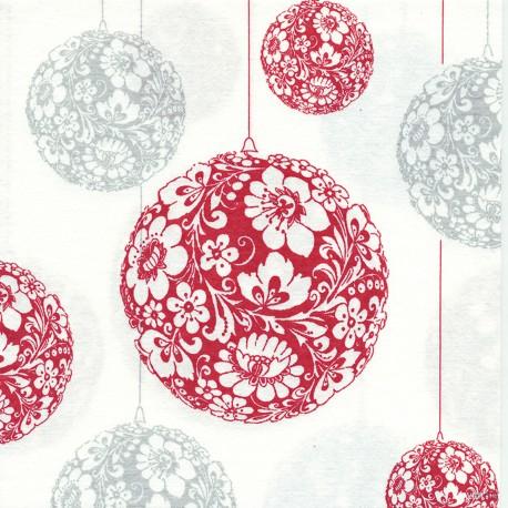 Serviette papier décorée