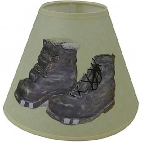abat jour conique poser vieux souliers. Black Bedroom Furniture Sets. Home Design Ideas