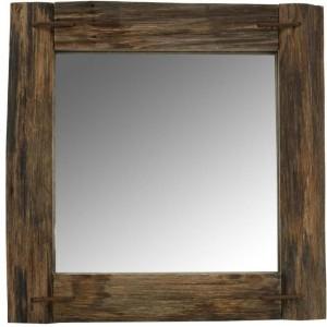 Miroir bois rustique