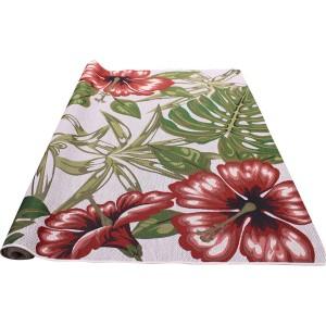 Tapis hibiscus