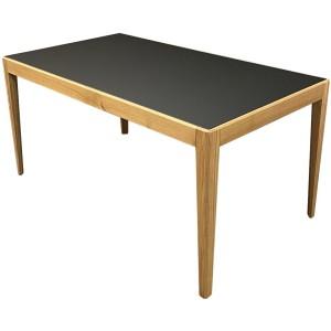 Table inside chêne massif et fenix avec allonge intégrée