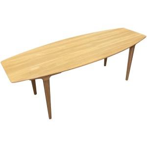 Table basse chêne massif casual