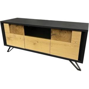 Meuble tv 2 portes 1 tiroir  megan