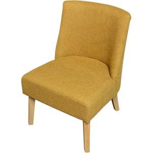 Petit fauteuil pieds bois