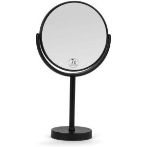 Miroir sur pied métal