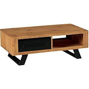 Table basse 1 tiroir 1 niche