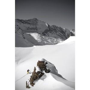 Ski rando grande casse  en photo plexiglass