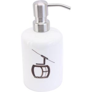 Distributeur de savon téléphérique