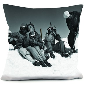 Coussin couple glamour