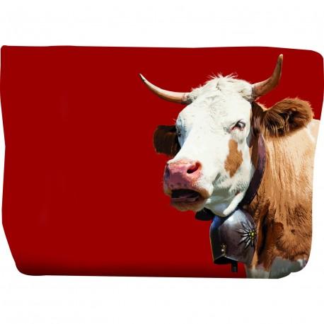 Trousse avec vache savoyarde