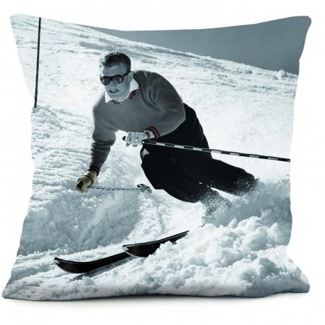 Coussin ski man