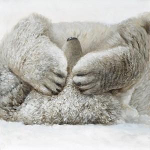 Tableau ours caché