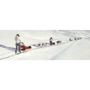 Tableau expédition de mushers