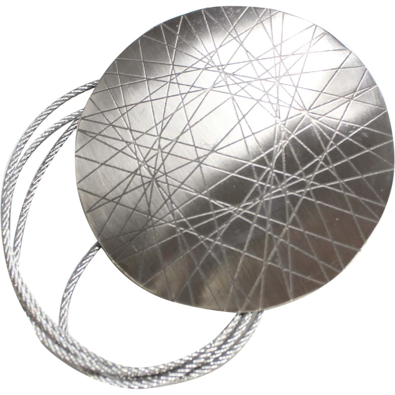 Embrase De Rideau avec rideau aimantée anya carré métal