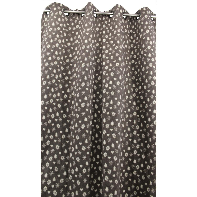 Double Rideaux Style Chalet rideau cordon