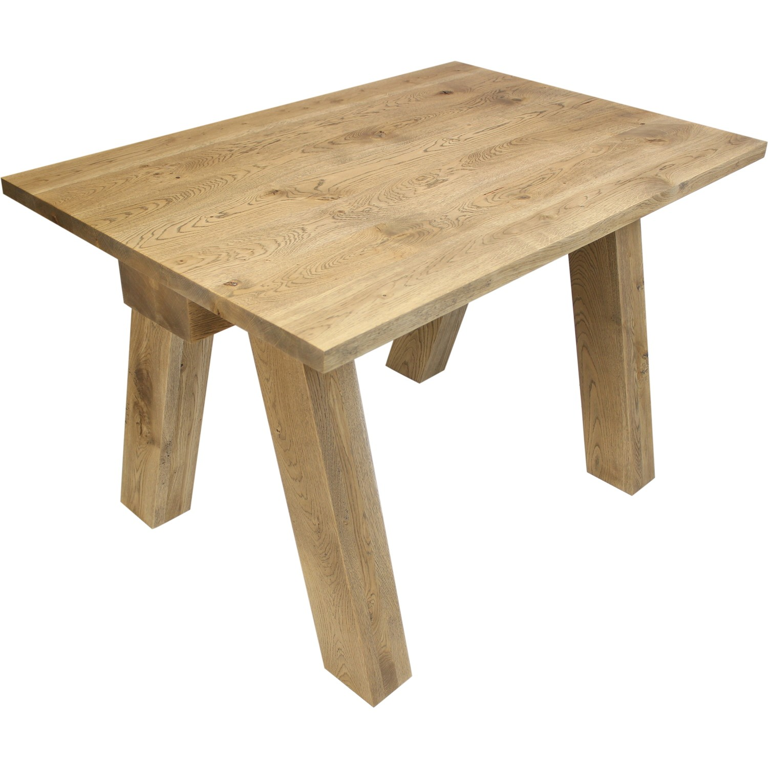 Table en ch ne massif balk - Table rectangulaire chene massif ...