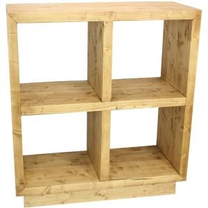 Module cube 4 cases sur pied