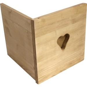 Porte coeur pour étagère cube