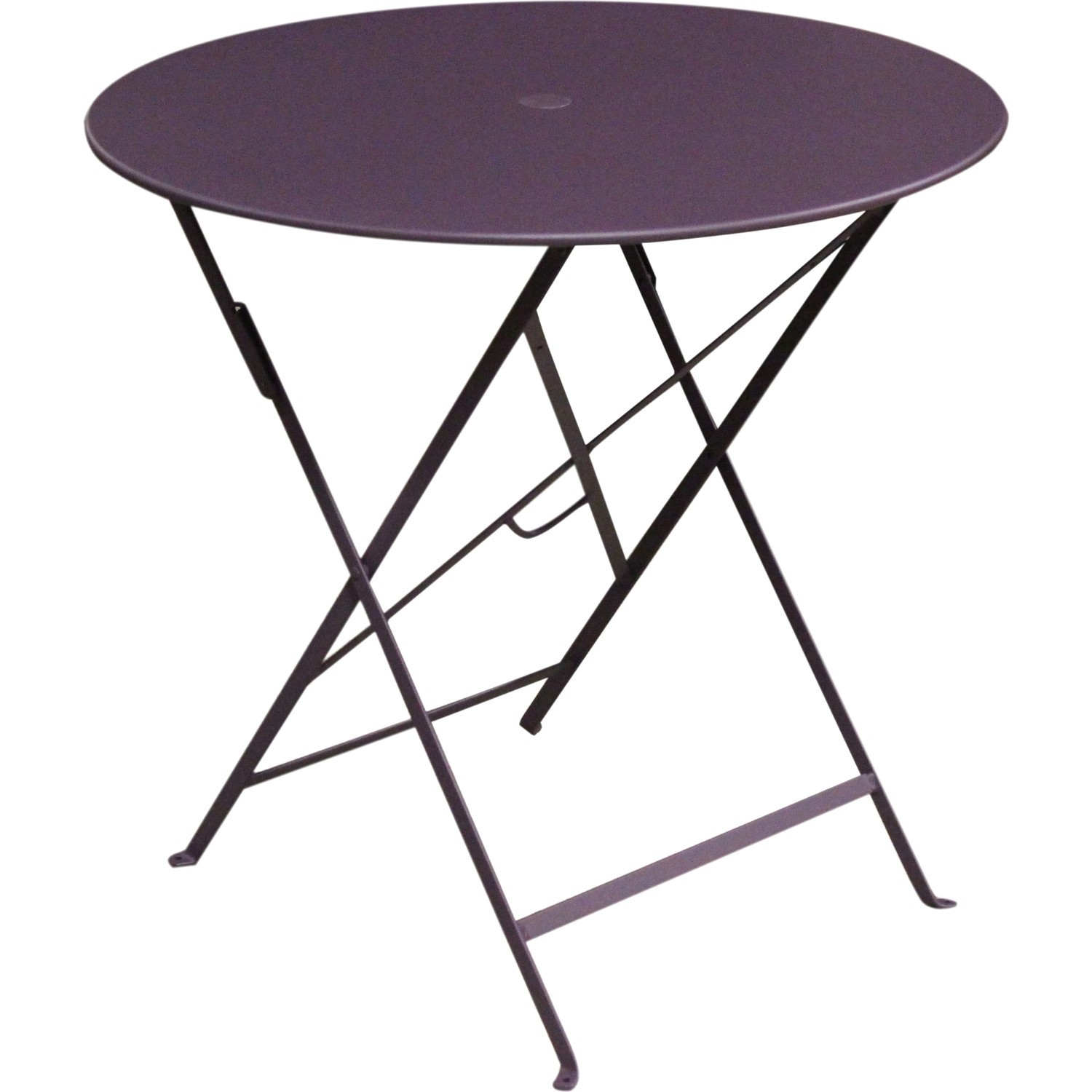 Table m tal pliante ronde - Table pliante aluminium ...