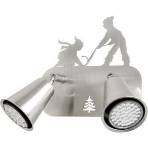 Spot 2 lampes lugeurs orientable