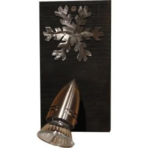 Spot 1 lampe bois wengué