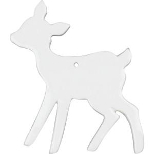 Bambi porcelaine à suspendre