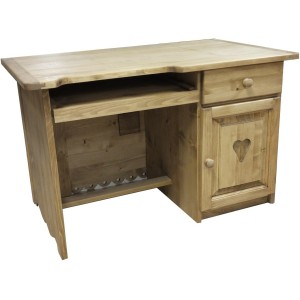 Bureau simple 2 tiroirs for Bureau 1 tiroir jimi