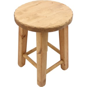 Tabouret rond vague