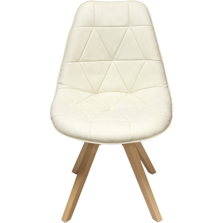 chaise dune avec pieds en h tre massif. Black Bedroom Furniture Sets. Home Design Ideas