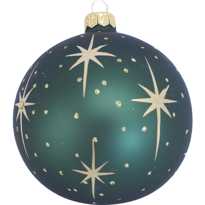 Boule Decoration.Boule Déco Grand Modèle Pois Et étoiles