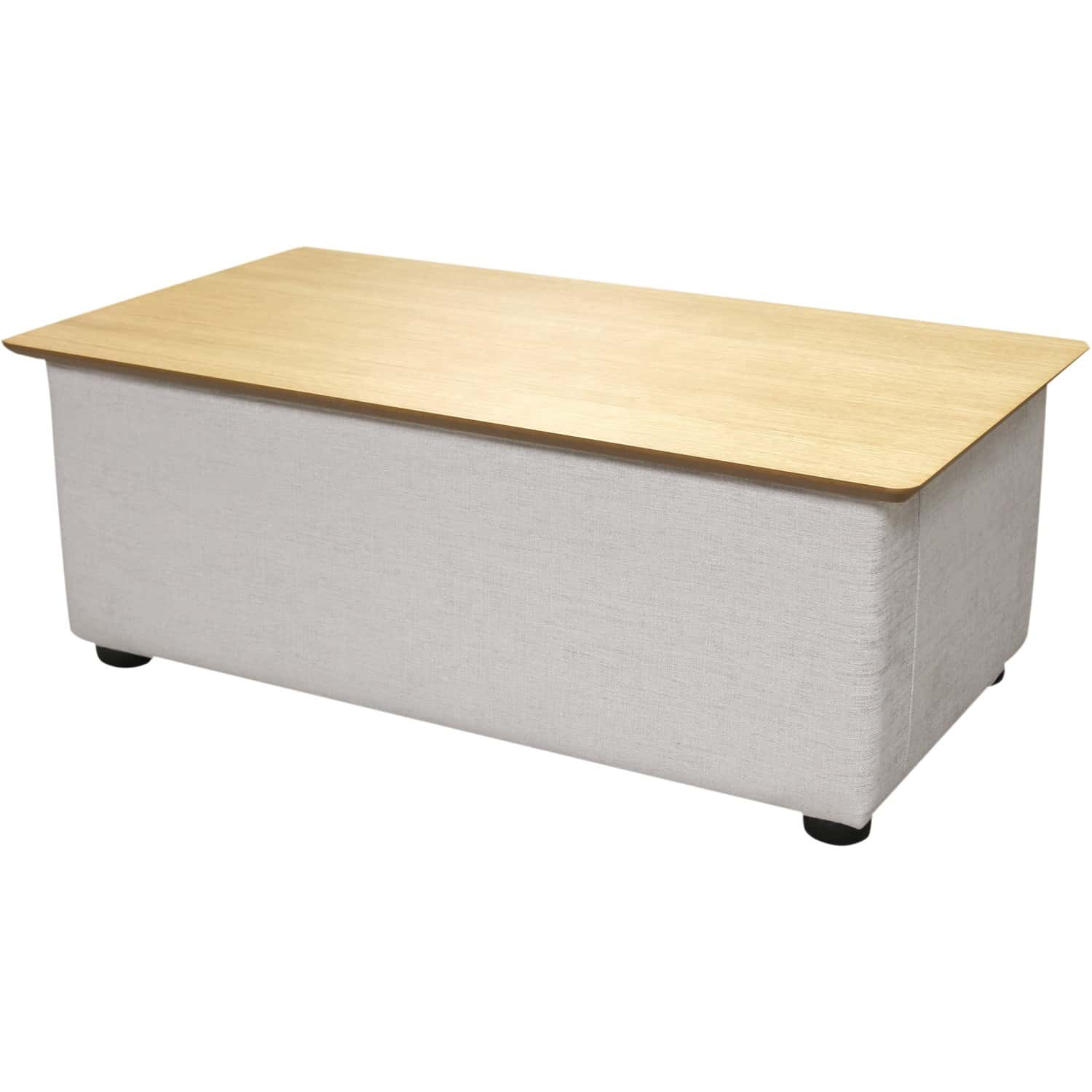 Table basse avec plateau relevable adam for Table basse plateau