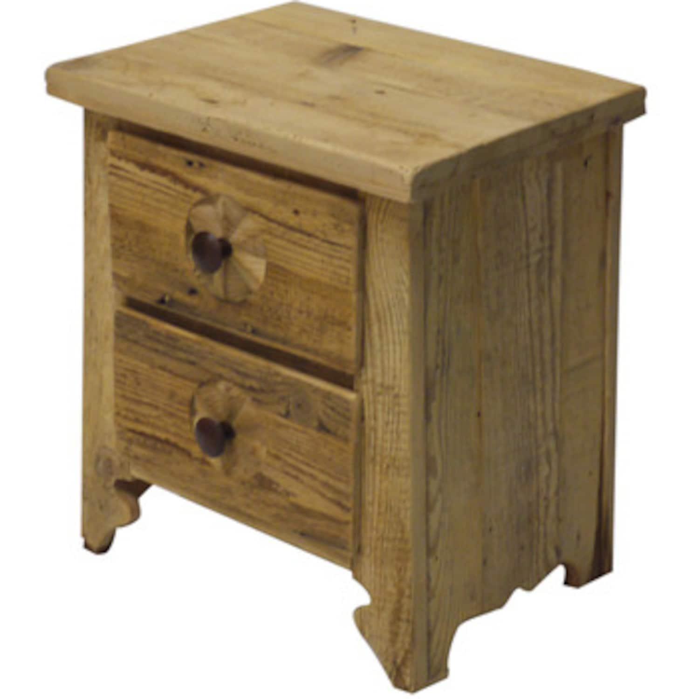 Chevet grange 2 tiroirs for Grange du meuble