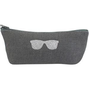 Trousse anthracite pour lunettes