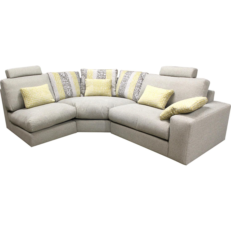 Canape d angle modulable grand confort calisto