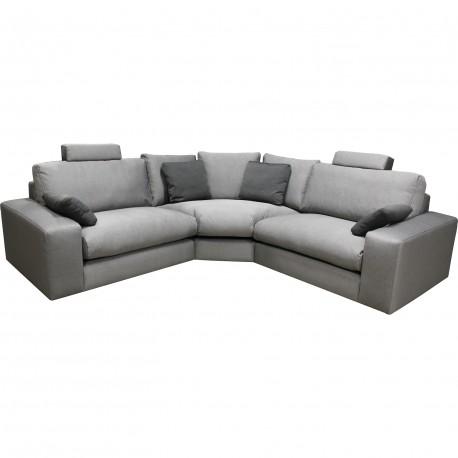 Canape d'angle modulable grand confort calisto