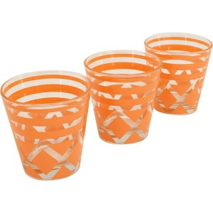 Set de 3 verre mexico