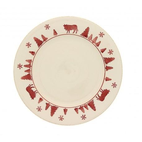 Assiette plate alpage