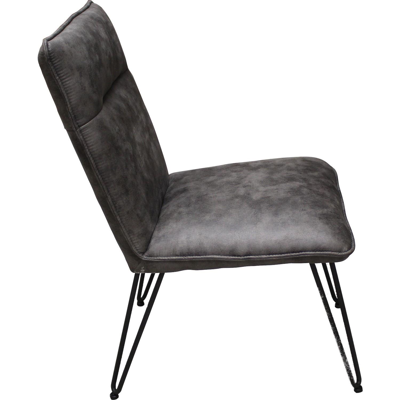 chaise pied metal et assise epaisse fats. Black Bedroom Furniture Sets. Home Design Ideas